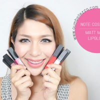 SWATCH :: NOTE COSMETICS MATT MOIST LIPGLOSS